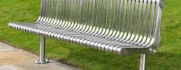 Lander Stainless Steel Seats