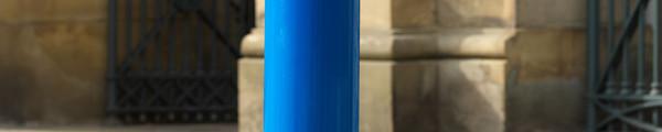 Slant-Top Mild Steel Bollard