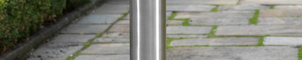 Flat Top Stainless Steel Bollard