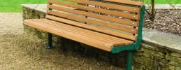 Lander Timber Slatted Seat