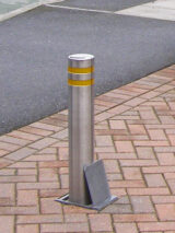 Round Security Bollard (101mm)