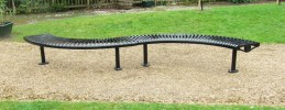Tula Curved Bench