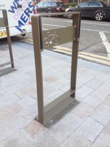 Bespoke bike rack